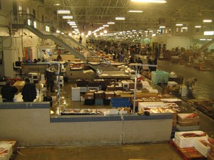 New Fulton fish market in New York